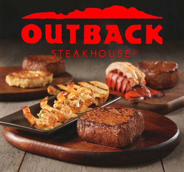Voucher Outback Steakhouse Senilai Rp200.000