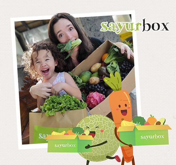 Voucher Value Rp50.000 dari Sayurbox