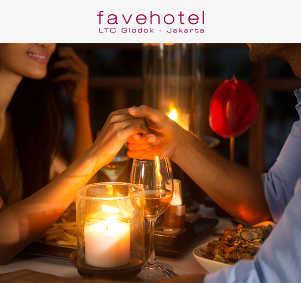 Romantic Dinner For 2 Person at Lime Restaurant