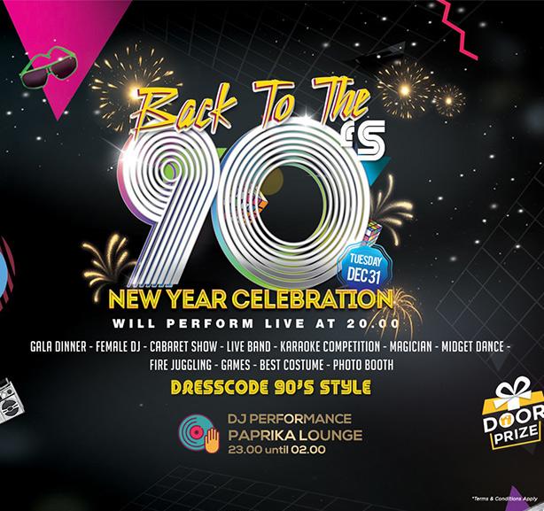 Back To 90s New Years at Rinjani Ballroom-Hariston