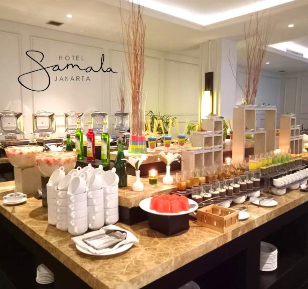 All You Can Eat Breakfast Buffet at Hotel Samala